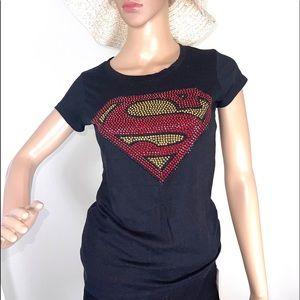 Black Superman T-Shirt